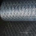 Malla de alambre hexagonal galvanizada sumergida caliente para las aves de corral