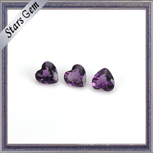 Mysterious Purple Natural Amethyst Birth Stone for Jewelry