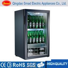 Glass Door Table Top/Counter Top Bar Fridge Portable Refrigerator Display Cooler