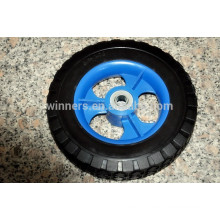 8x1.75 small solid rubber wheel for toy cart