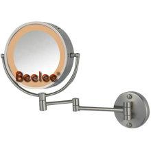 Espejo de luz sensor con lupa (M-3009A)