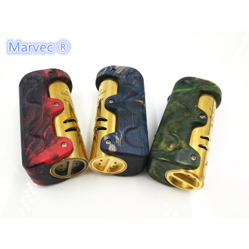 Marvec Priest 21700 DNA75 TC estabilizado vape madeira