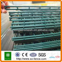 656 Twin Bar Mesh Panel Fencing