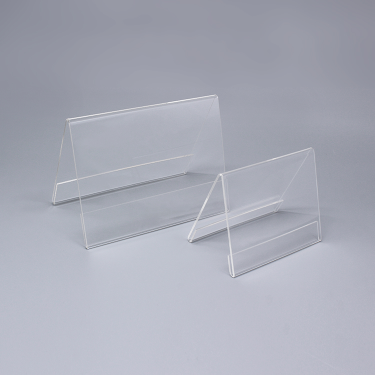 Clear Plastic Display Stands