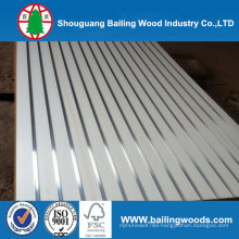 High Quality Titanium White Slotted MDF Board, Melamine Slotted MDF