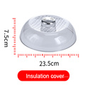 Plastic Lid With Rotatable Switch For Storage Food