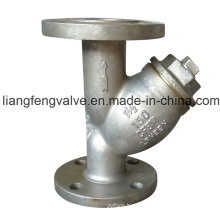 Stainless Steel Flanged End Y-Strainer, 150lb RF