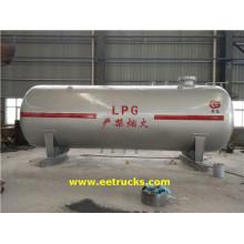 Horisontella 25000L LPG-tankar
