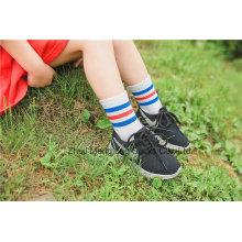 Preciosa escuela de vestir calcetines de algodón escuela chica calcetines de algodón Popular