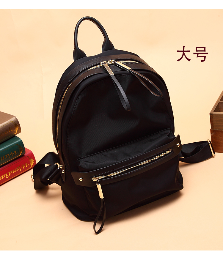 Oxford cloth backpack purse