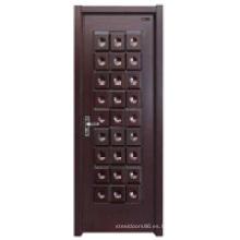 Puerta interior de seguridad de madera (HDA-009)