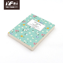 Custom flower story style cute pocket notebook