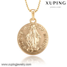 32589 Fashion 18k Gold-Plated Alloy Copper Words Imitation Jewelry Chain Pendant