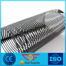 Plastic HDPE Material Unxial Geogrid