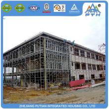 Plegable de alta calidad plegable materiales de construcción centro comercial