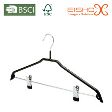 Wholesale Black PVC Metal Suit Hanger (TS216)
