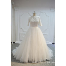 Ivory Ball Gown Wedding Dress Long Bridal Wedding Dress 2017