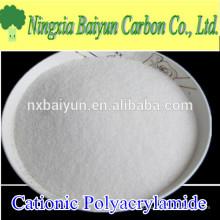 Содержание твердых веществ 90% высокого полимера флокулянта полиакриламид порошок