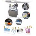 Лучшая цена на автоматические мягкие Завалка пробки & машина запечатывания, Завалка пробки зубной пасты машина, крем наполнения и укупорки машина