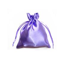 bolsa de lingerie de joias de cetim com cordão