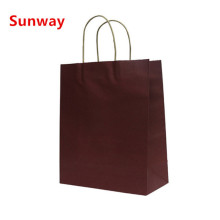 Tint berwarna Kraft Shopping Bags