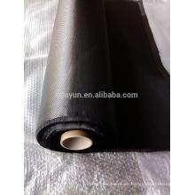 Tela llena llana libre de la fibra del carbón del envío 3K 200g para las piezas de automóvil