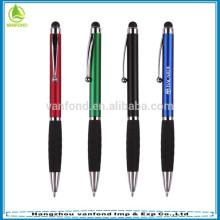 Logótipo impresso caneta de toque de tela de brindes promocionais com caneta