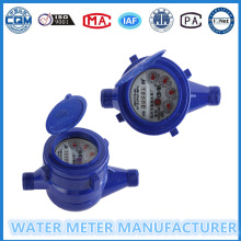 Higt Measuring and Low Price Plastic Wet Dail Cold Water Meter