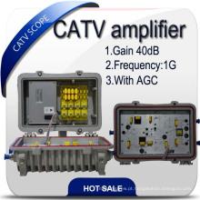 40db amplificador CATV / Hfc Booster / RF reforço