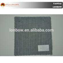 Conforto super 100 lã / seda mistura tecido com certificação oeko-tex
