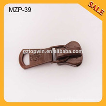MZP39 zipper puller design 5# metal zipper puller auto lock zipper puller