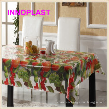PVC Waterproof Transparent Tablecloth/Wedding Table Cloth in Roll