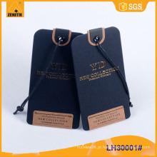 Hangtag de vestuário, Hangtag de vestuário, Hangtag de papel LH30001