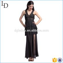 Conception de l'Europe de la robe de soirée des femmes luxe robe longue pour la fête
