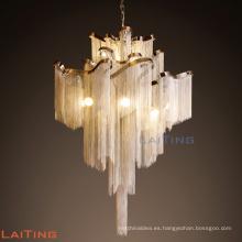 Waterfall Chain Chandelier Lamp Villa Top Grade Lighting Meeting Hall Luz 71156