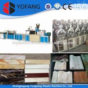 plastic stone stripe profile production line,stirpe profile production line,decoration plastic stone