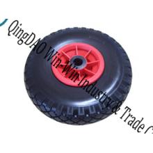 8 * 2.50-4 roue d'unité centrale, roue en caoutchouc, roues en nylon de pièces de roue
