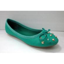 Neue Art-Frauen-Kleid-flache Schuhe (HCY03-126)