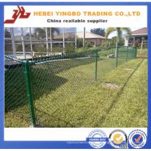 Yb-09 2016 Nuevo Precio Barato PVC Recubierto Competitivo Precio Chain Link Fence