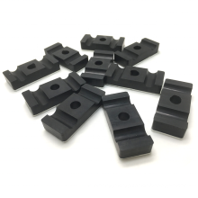 Black Resistance high temperature resistant cable sealing grommet rubber grommet with metal fittings for wire management