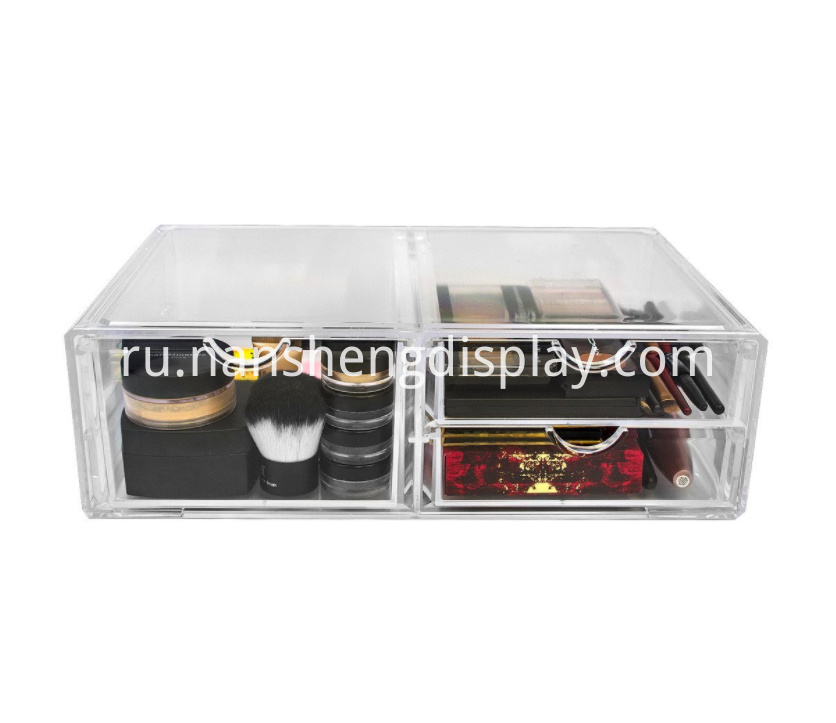 Acrylic Cosmetics Storage Case