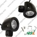 CE / RoHS / IP67 Автоматическая светодиодная рабочая лампа 10 Вт Светодиодная лампа дальнего света 10-30 В Светодиодная лампа для ...