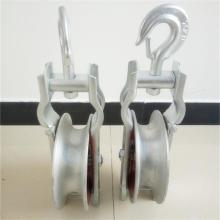 400mm tali talian kabel pulley Nylon kabel pulleys