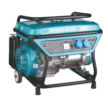 5kw Recoil Start Electric Started Gas Generator (BN6500C(E))
