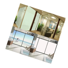 pdlc smart glass film switchable magic smart glass PLDC film for Office Partition