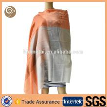 Сплетенный контраст цвета тонкий кашемир шарф Индия