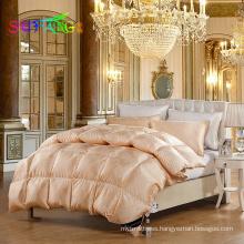 Hotel linen/Best sleeping 20% white goose down quilt /duvet /comforter