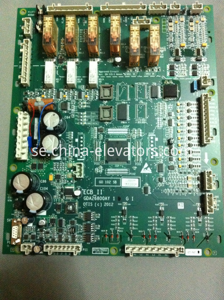 ECB_II Mainboard for OTIS Escalators GCA26800AY1 | GDA26800AY1