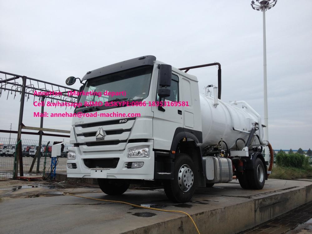 Sewage Tank Truck 4