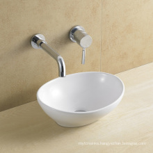 Ceramic/Porcelain Oval Art Basin for Bathroom (8021)